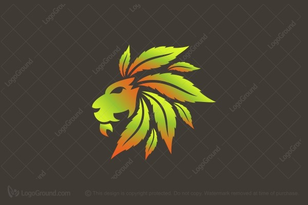 rasta lion logo exclusive logo 133483 rasta lion logo