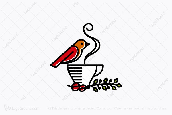 Logo for sale: Morning Coffee Logo
