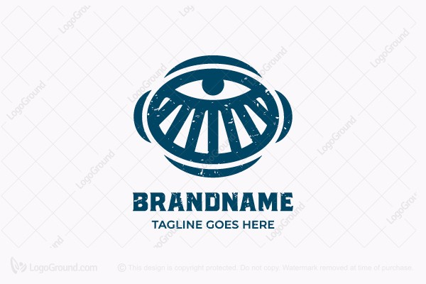 Logo for sale: Allseeing Eye Logo