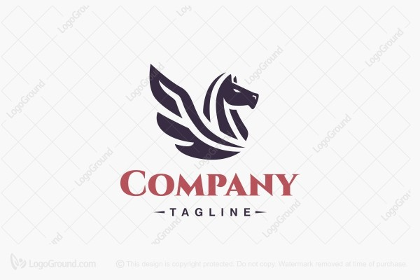 Logo for sale: Pegasus Logo