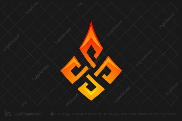 Logo for sale: Nordic Flame Logo
