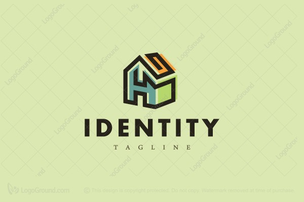 Logo for sale: A Or H House Logo