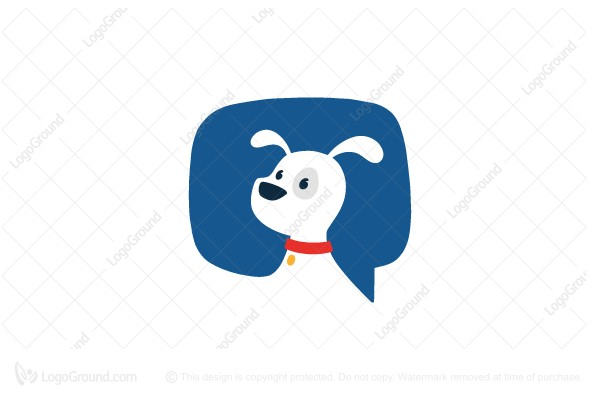 Logo for sale: Dog Talk Logo