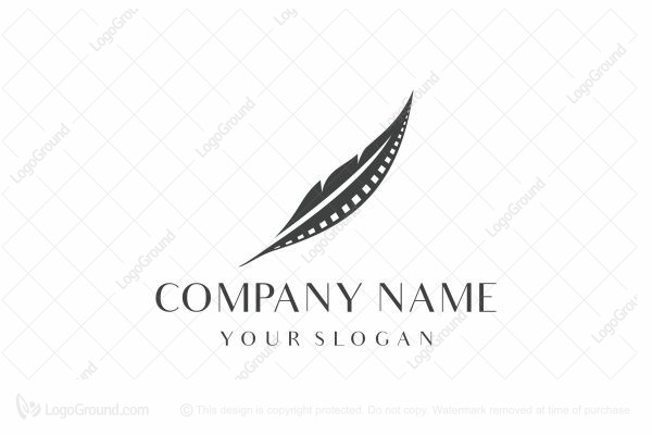 Logo for sale: Feather Film Logo
