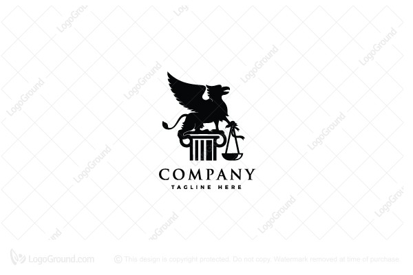 Logo for sale: Griffin Law Logo