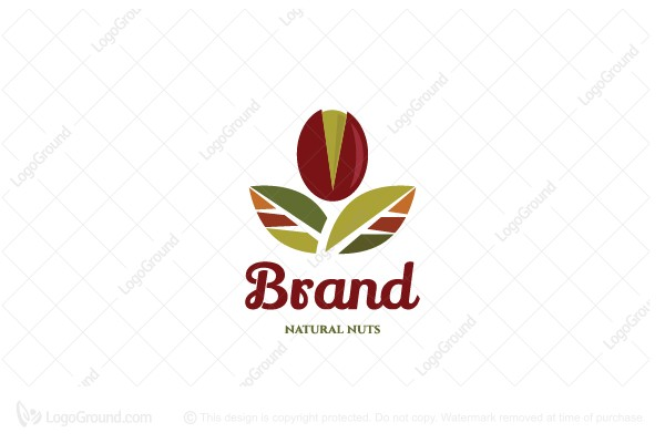 Logo for sale: Simple Natural Nuts Logo