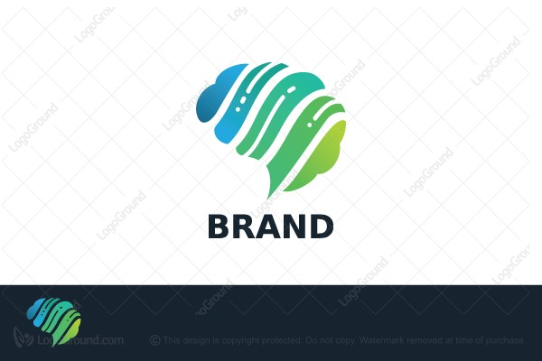Logo for sale: Brain Logo
