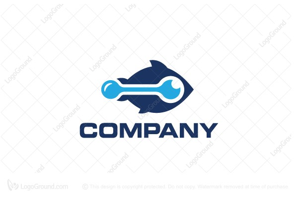 Logo for sale: Data Fish Logo