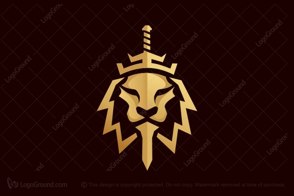 Logo for sale: Samurai Lion Logo