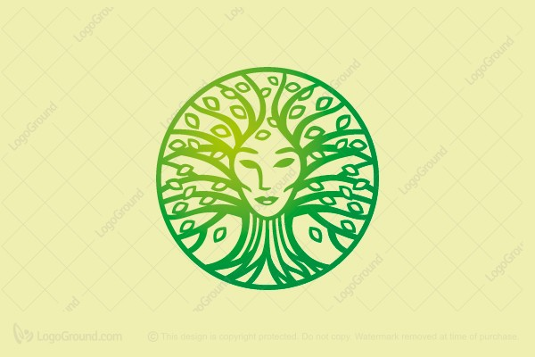 Logo for sale: Mother Nature Logo
