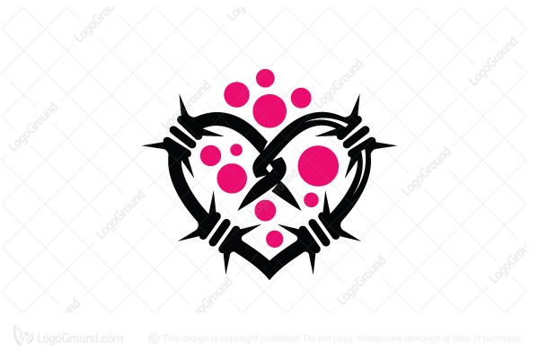 Logo for sale: Prickly Love Logo
