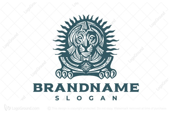 Logo for sale: Egyptian Lion Logo