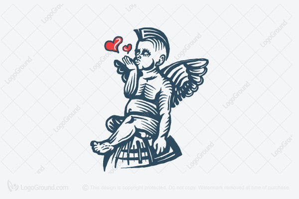 Logo for sale: Little Punk Angel Logo