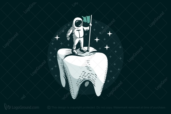 Logo for sale: Teeth Lander Logo