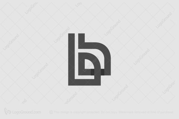 Ba Or Arabic H Monogram Logo