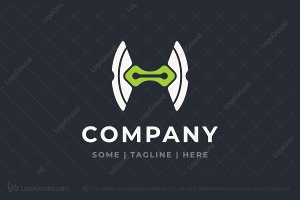 Logo for sale: Letter H Tech Logo
