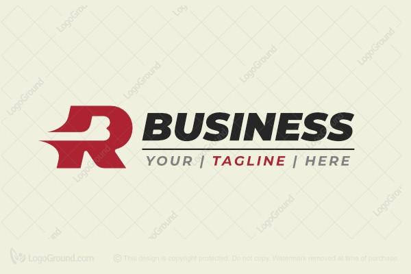 Logo for sale: Letter Rb Logo
