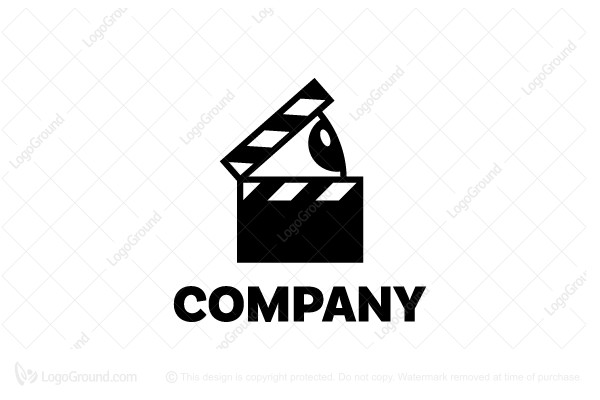 Logo for sale: Watch Movies Logo