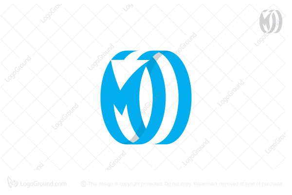 Logo for sale: Letter M Arrow Logo