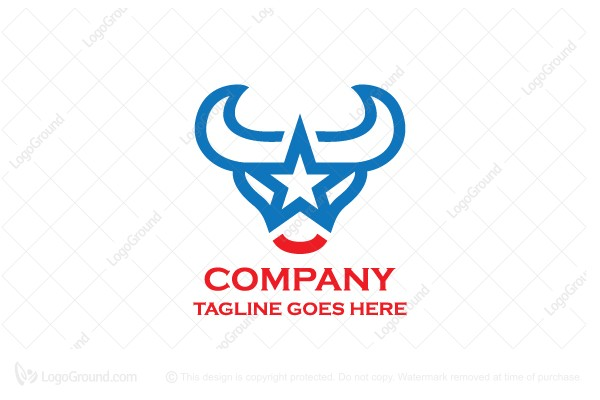 Logo for sale: Star Bull Logo