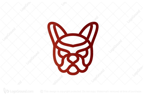 Logo for sale: Bulldog Logo