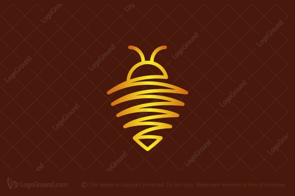 Logo for sale: Bee Protected Logo