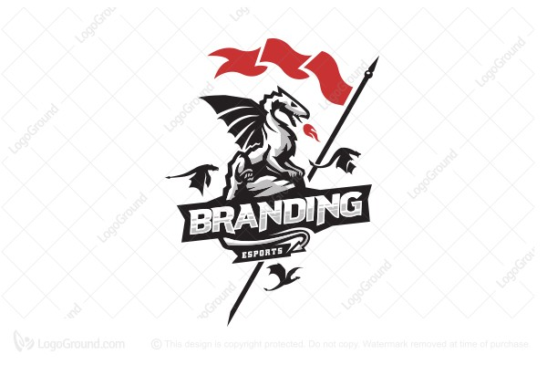 Logo for sale: Dragon Sports Logo