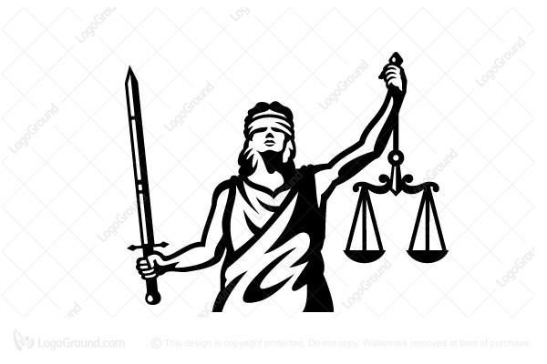 Logo for sale: Lady Justice Logo