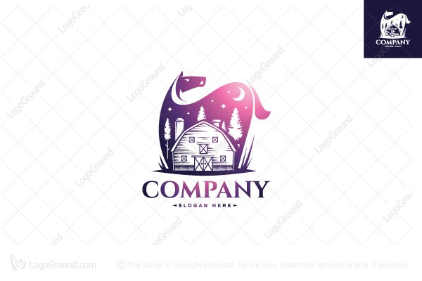 Logo for sale: Farm Horse Logo