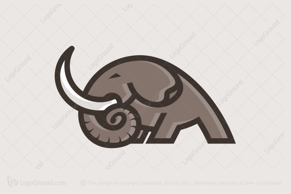 Logo for sale: Strong Elephant Logo