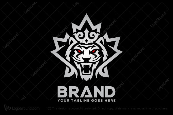 Logo for sale: Canadian Tiger Logo