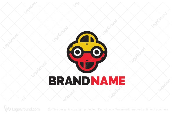 Logo for sale: Taxi Vs Car Logo
