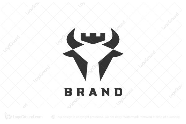 Logo for sale: King Bull Logo