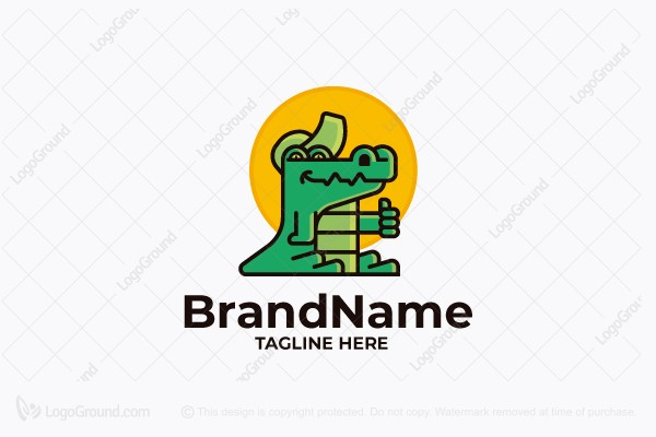Logo for sale: Croc Business Logo
