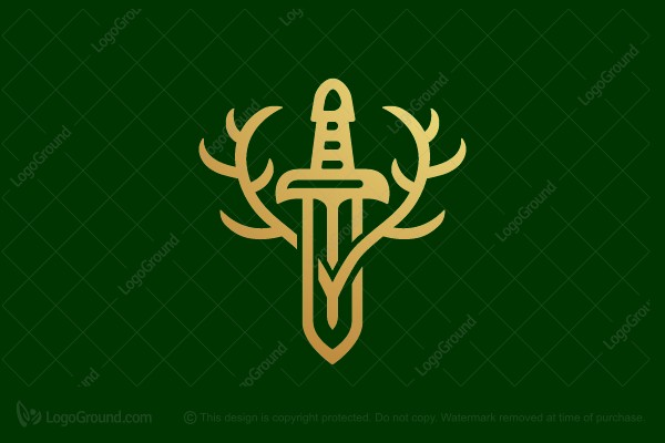Logo for sale: Forest Sword Logo