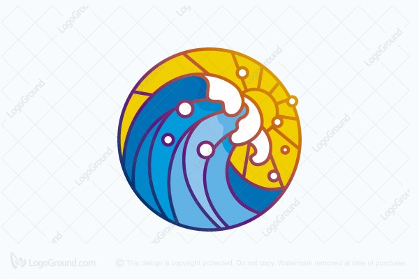Logo for sale: Big Wave Logo