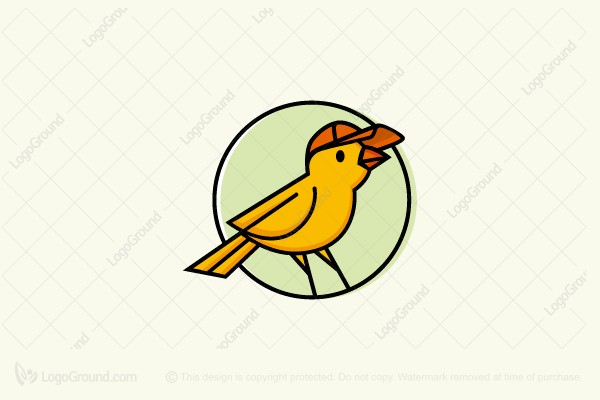 Logo for sale: Fan Bird Logo
