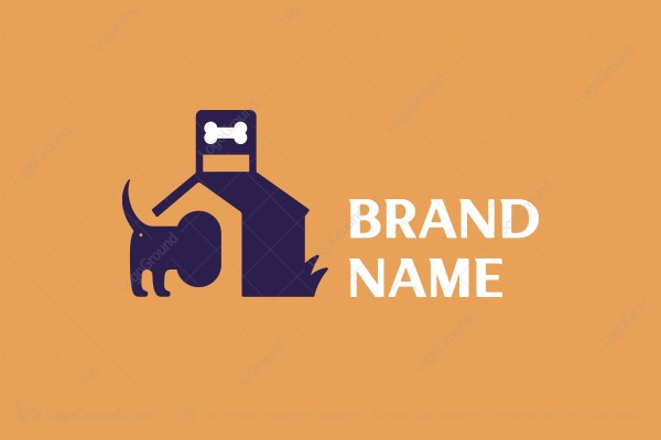 Logo for sale: Dog House Logo