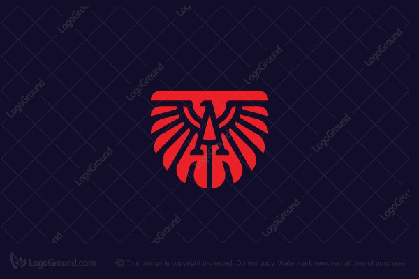 Logo for sale: Eagle Letter A Logo