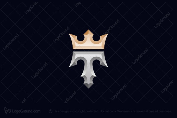 Logo for sale: King T Logo