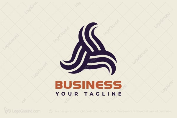 Logo for sale: Triangular Abstraction Logo