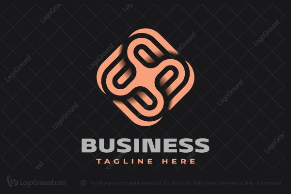 Logo for sale: Cumulative Abstraction Logo