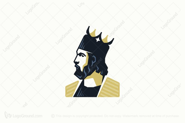 Logo for sale: The King Logo