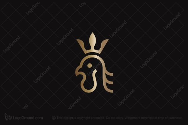 Logo for sale: Rooster King Logo
