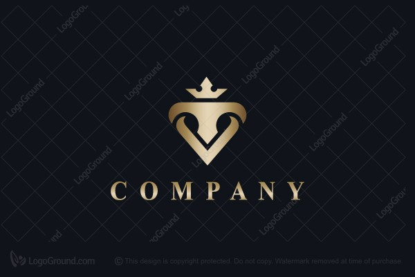 Logo for sale: V Royal Bull Logo