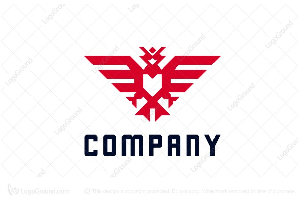 Logo for sale: Geometry Phoenix Logo