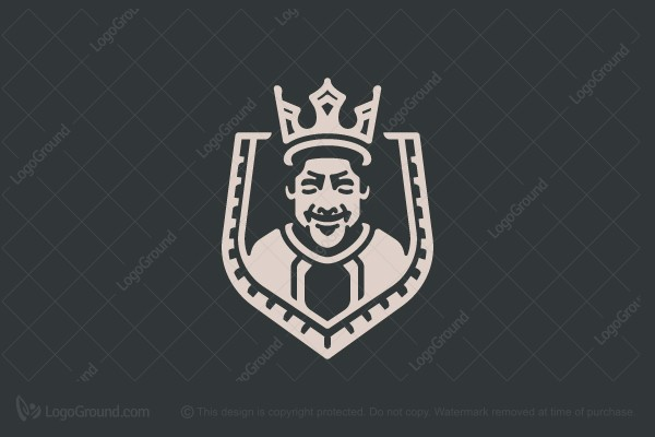 Logo for sale: Happy King Logo