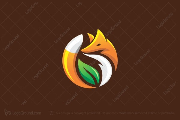 Logo for sale: Eco Fox Logo