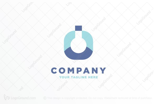 Logo for sale: Florence Flask Logo