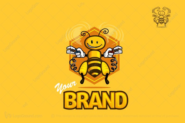 Logo for sale: Bee Power Logo